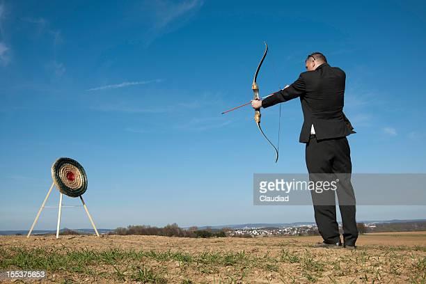 Shooting on target