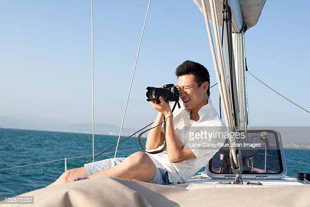 Shooting Pictures While Boating