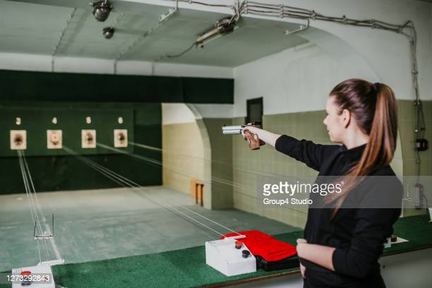 shooting range - shooting crime stock pictures, royalty-free photos & images