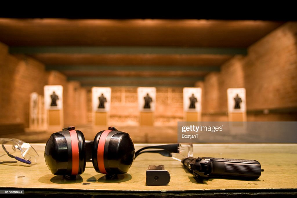 Shooting range : Stock Photo