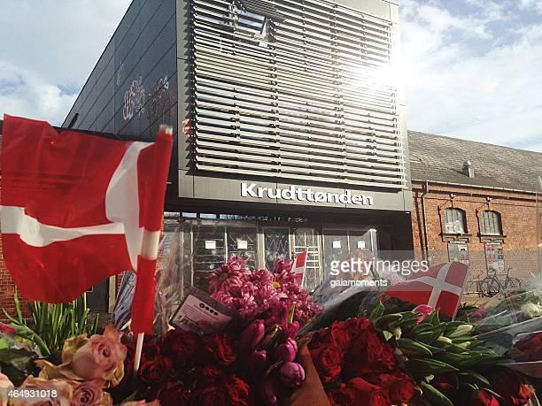 Shooting scene at Krudttønden in Copenhagen