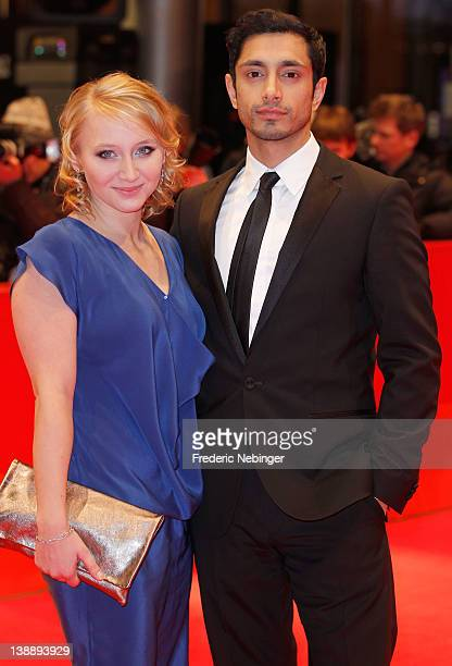 Shooting Star actors Anna Maria Muehe and Riz Ahmed attend the Jayne Mansfield's Car Premiere during day five of the 62nd Berlin International Film...