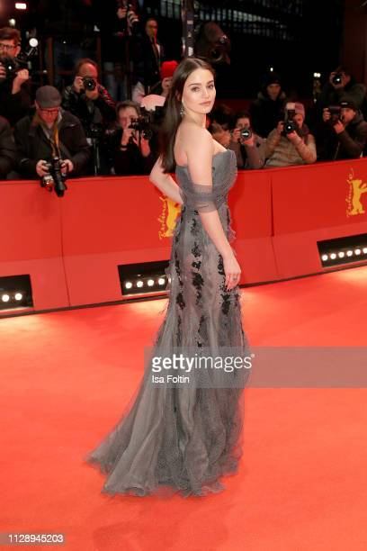 Shooting Star Aisling Franciosi arrives for the Vice premiere during the 69th Berlinale International Film Festival Berlin at Berlinale Palace on...