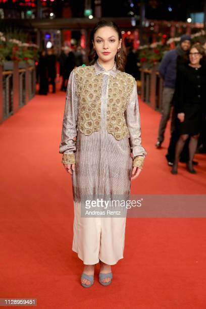 """Shooting Star"""" Emma Drogunova poses at the European Shooting Stars 2019 ceremony and """"Vice"""" premiere during the 69th Berlinale International Film..."""