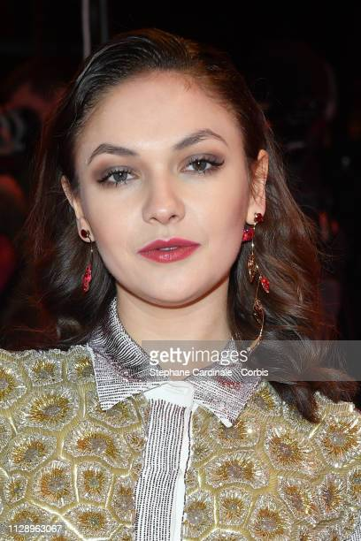 'Shooting Star' Emma Drogunova poses at the Vice premiere during the 69th Berlinale International Film Festival Berlin at Berlinale Palace on...