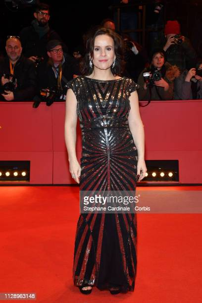 'Shooting Star' Kristin Thora Haraldsdottir poses at the 'Vice' premiere during the 69th Berlinale International Film Festival Berlin at Berlinale...