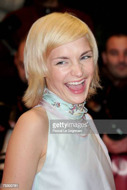 Shooting Stars 2007 Austrian actress Sabrina Reiter attends the premiere to promote the movie 'Notes On A Scandal' during the 57th Berlin...