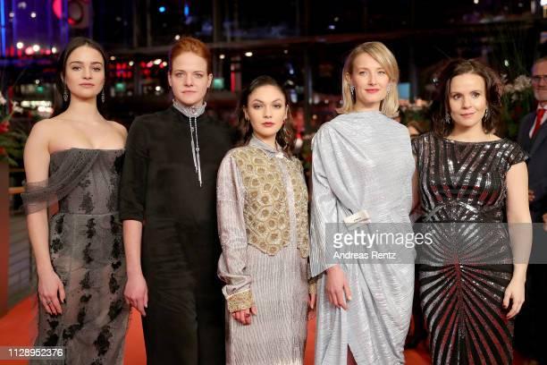 "Shooting Stars"" Aisling Franciosi , Rea Lest , Emma Drogunova , Ine Marie Wilmann and Kristin Thora Haraldsdottir pose at the European Shooting Stars..."