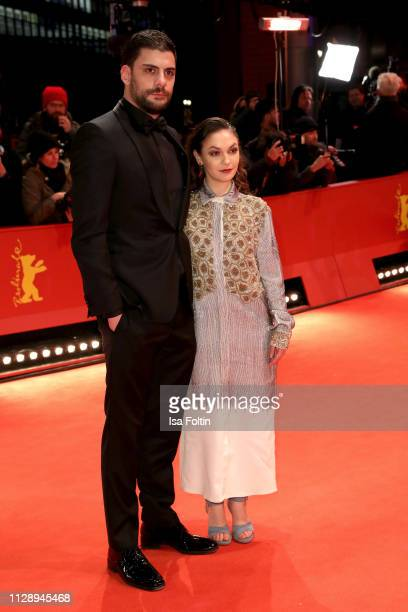 Shooting Stars Milan Maric and Emma Drogunova arrive for the Vice premiere during the 69th Berlinale International Film Festival Berlin at Berlinale...