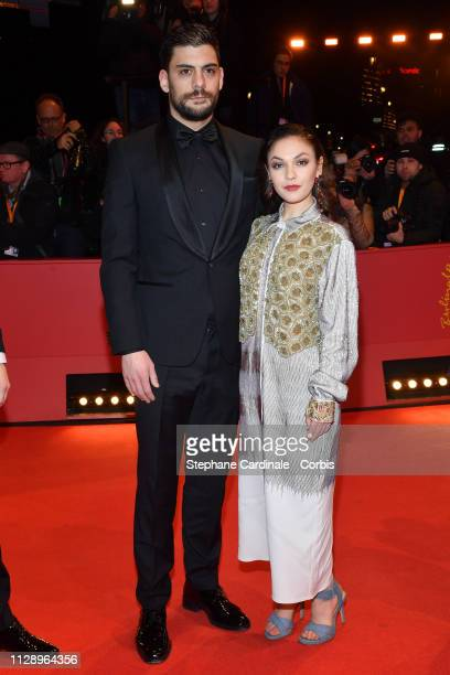 'Shooting Stars' Milan Maric and Emma Drogunova pose at the Vice premiere during the 69th Berlinale International Film Festival Berlin at Berlinale...
