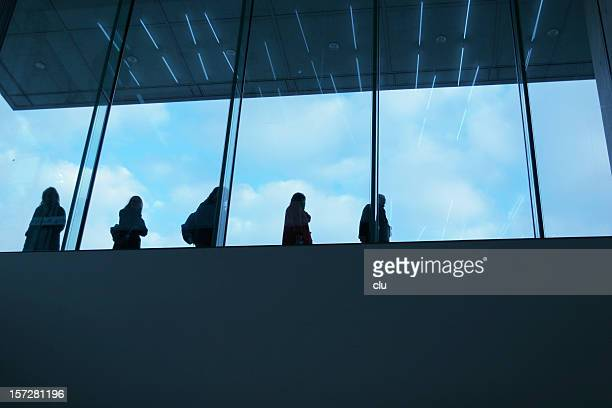 shooting up on looking down people - symbolism stock pictures, royalty-free photos & images