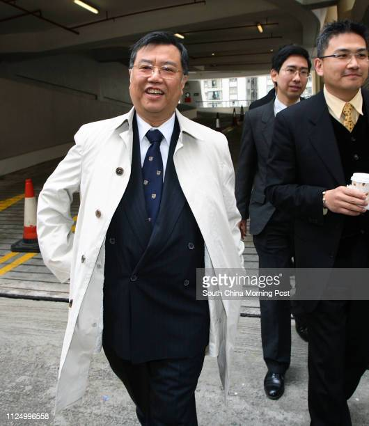 Shootout inquest at Eastern magistracy Barrister for Commissioner of Police Peter Ip Takkeung leave the Eastern Court where the joint inquest into...