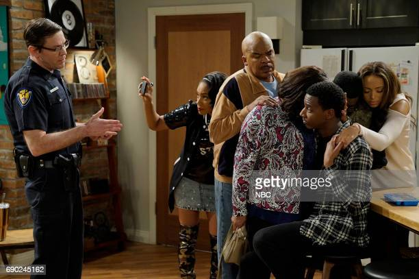 SHOW 'Shootupable' Episode 304 Pictured Carlos Jacott as Officer Tiffany Haddish as Nekeisha Wiliams David Alan Grier as Joe Carmichael Loretta...