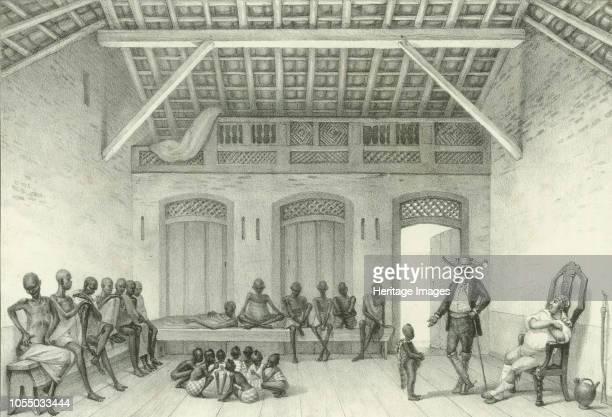 Shop for selling slaves 1835 Private Collection Artist Debret JeanBaptiste