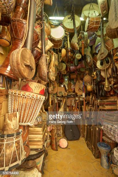 Shop for traditional musical instruments, Medina
