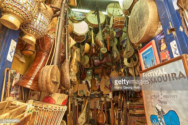 Shop for traditional musical instruments, Medina, UNESCO World Heritage Site