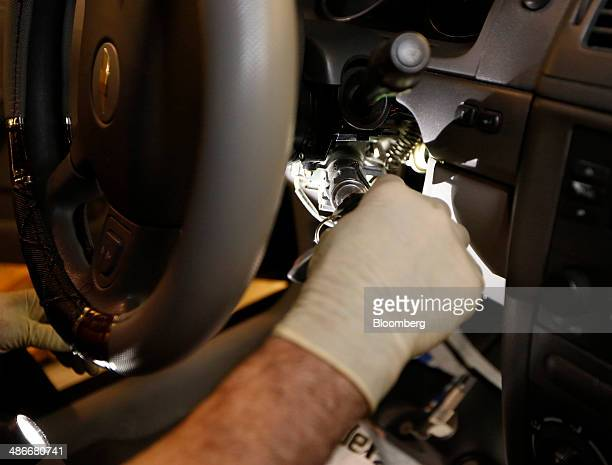 13 Faulty Ignition Switch Repair At A General Motors