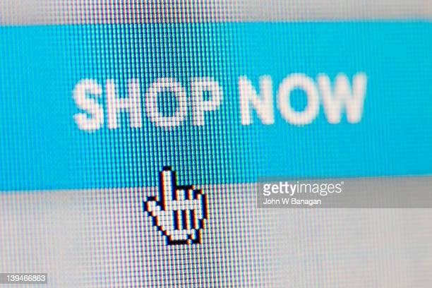 Shop now, internet sign