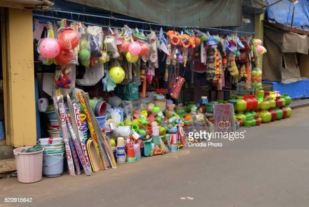 Shop of Various Household Plastic Substance Malvan Konkan Maharashrashtra