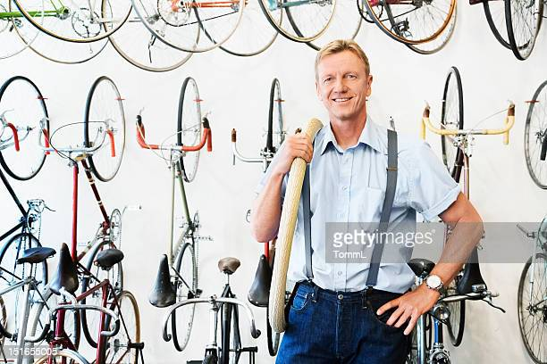 Shop Owner in Bike Store