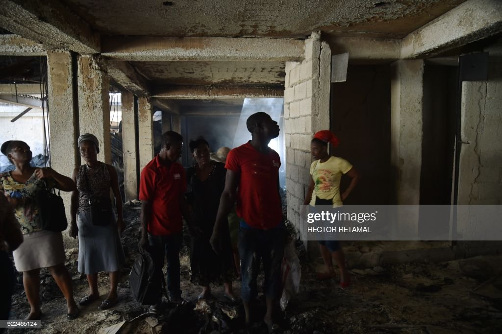 HAITI-MARKET-FIRE : Photo d'actualité
