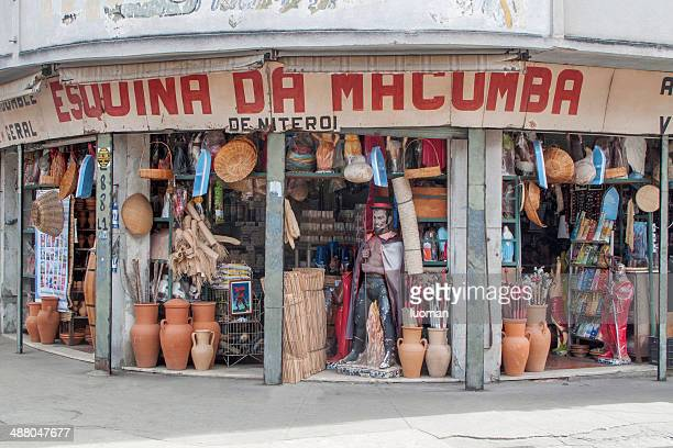 Shop specialized in afro-brazilian religious objects