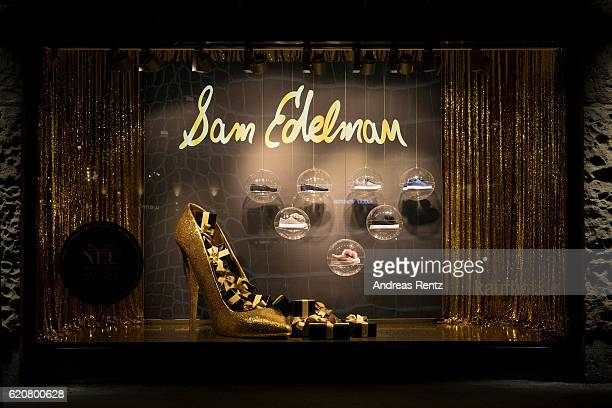 1cdc8f57e09575 A shop window displays Sam Edelman shoes during the opening of the  Dream  Concept