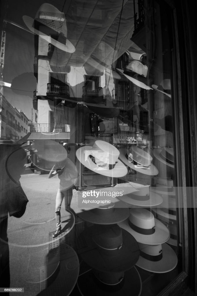 Shop window in Seville : Stock Photo