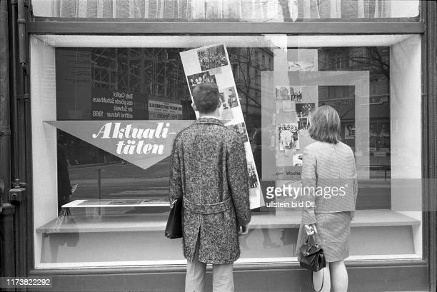 Shop window Ringier publisher: news of the week, 1967