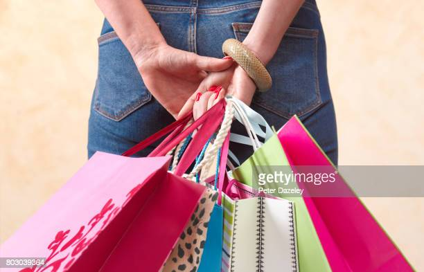shopaholic - excess stock pictures, royalty-free photos & images