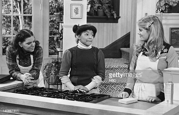 LIFE 'Shoplifting' Episode 6 Aired 12/31/80 Pictured Mindy Cohn as Natalie Letisha Sage Green Kim Fields as Dorothy 'Tootie' Ramsey Lisa Whelchel as...