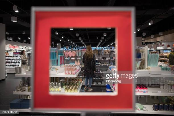 A shopper browses homewares inside a Hema BV store in Tilburg Netherlands on Wednesday Oct 4 2017 Privateequity firm Lion Capital LLP which bought...