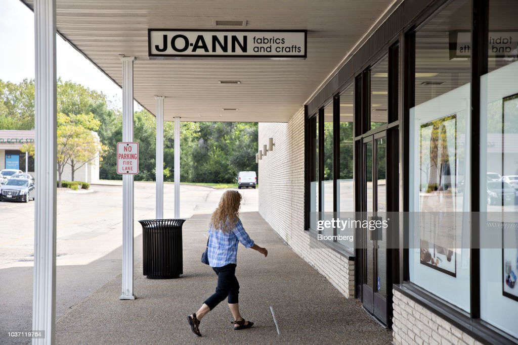 A Jo-Ann Stores Inc. Location As Yarn And Fabric Stay on Trump's Tariff List