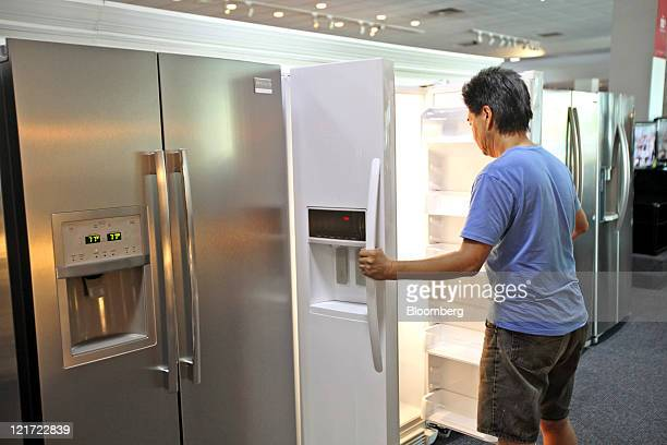 Abt Refrigerators Stock Photos And Pictures Getty Images - Abt refrigerators