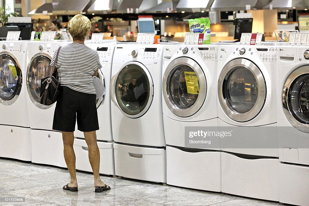 Inside An ABT Appliance Store Ahead Of Durable Goods Reports Photos - Abt washers