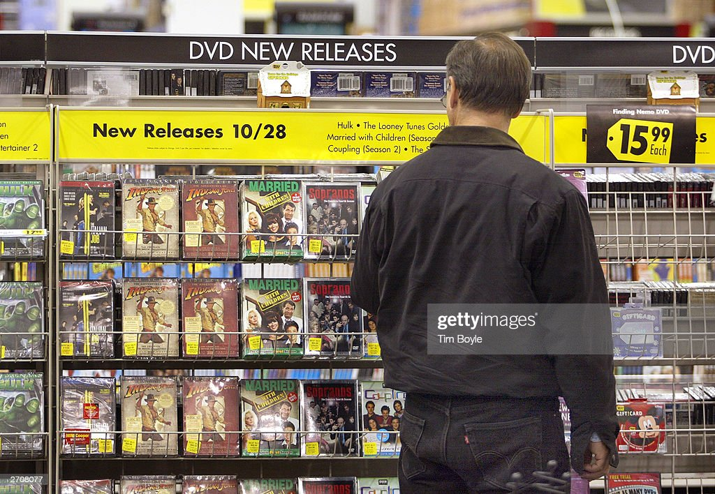 a shopper peruses newly released dvds at a best buy store november 7 news photo getty images. Black Bedroom Furniture Sets. Home Design Ideas