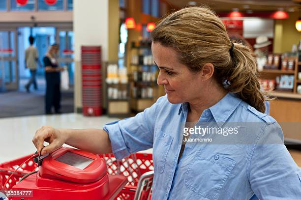 shopper - megastore stock photos and pictures