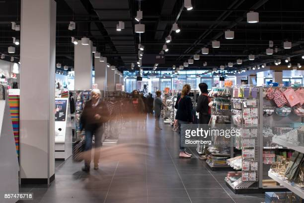 Shoppers browse homewares inside a Hema BV store in Tilburg Netherlands on Wednesday Oct 4 2017 Privateequity firm Lion Capital LLP which bought the...