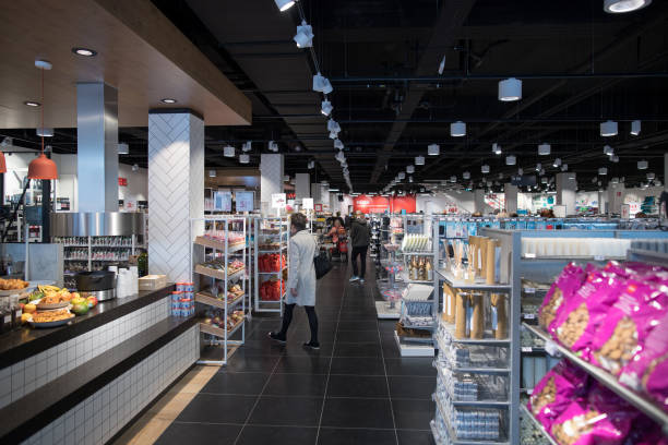 Photos et images de Inside A Hema BV Store As Lion Capital