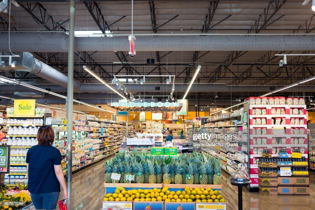 Whole Foods Market : News Photo