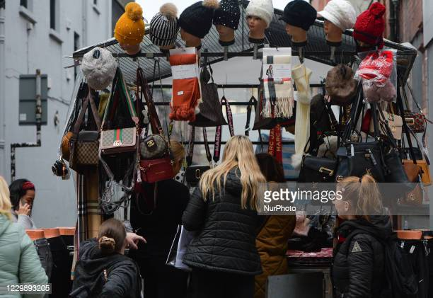 Shoppers in Henry Street in Dublin city centre, Taoiseach Micheal Martin announced last Friday plans for the easing of nationwide Level 5 lockdown...