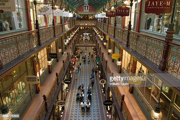 Shoppers in Strand Arcade in Sydney