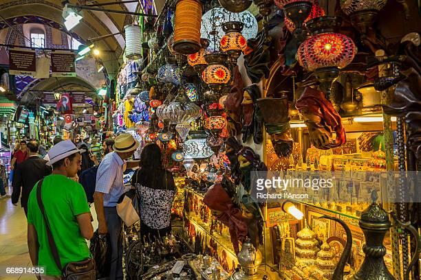 Shoppers in the Grand Bazaar
