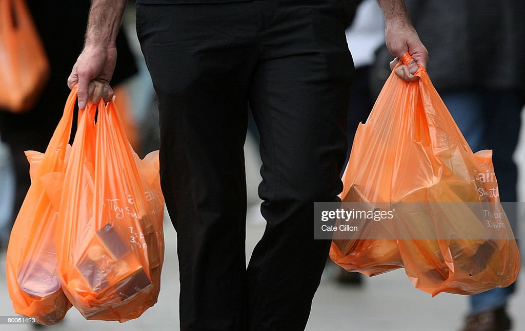 Plastic Bags - The Environmental Scourge : News Photo
