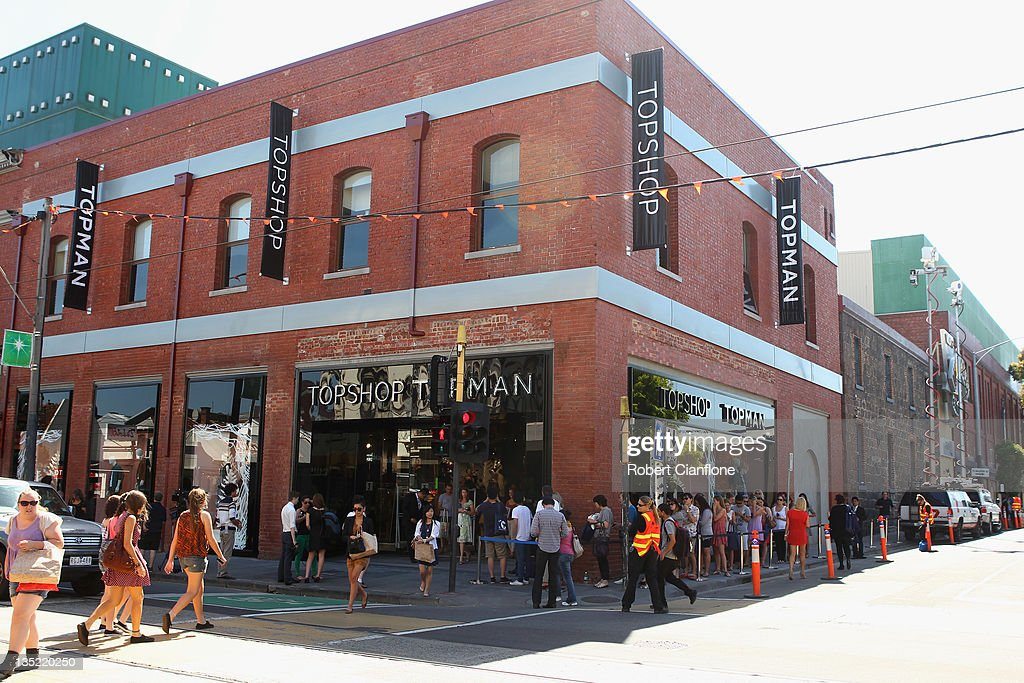 Topshop Opens First Australian Store : News Photo