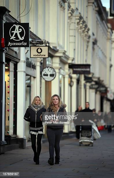 Shoppers make their way along the King's Road in Chelsea on December 5 2012 in London England The Chancellor of the Exchequer George Osborne has...