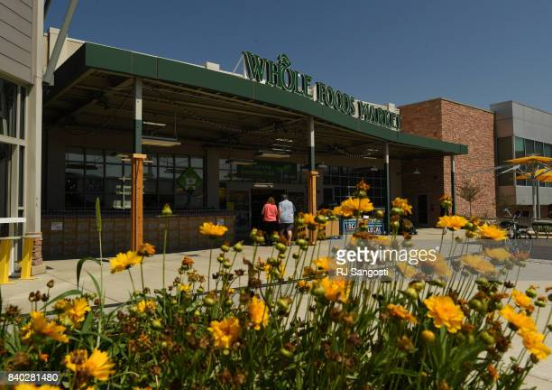 Shoppers make there way into Whole Foods Market in Belmar August 28 2017 in Lakewood ColoradoWhole Foods Market was recently purchased by Amazon