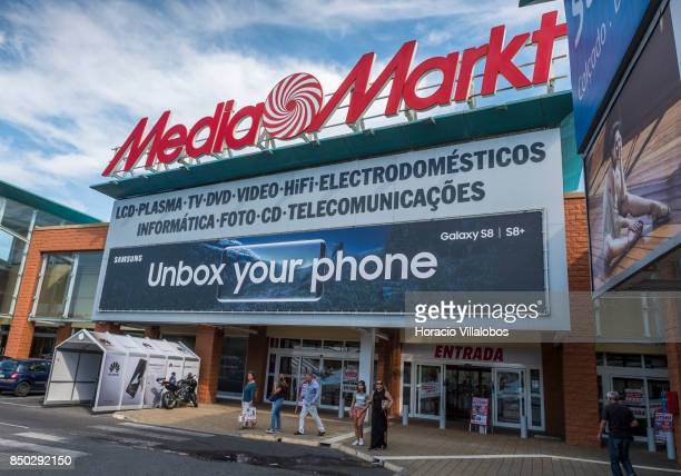 Shoppers MediaMarkt store at Sintra Retail Park one of four commercial centers owned by The Blackstone Group in Lisbon region on September 20 2017 in...