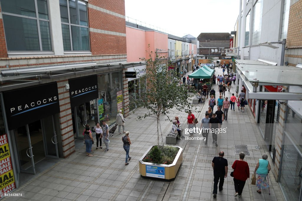 Brexit Britain Saddles Biggest Buyout Firms With Unloved Malls : News Photo