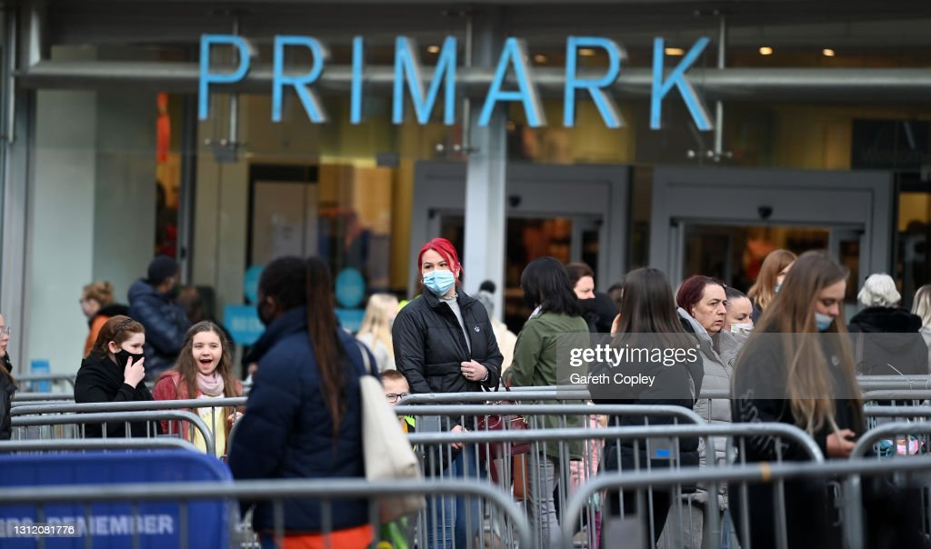 England Businesses Re-Open As Coronavirus Restrictions Ease : News Photo